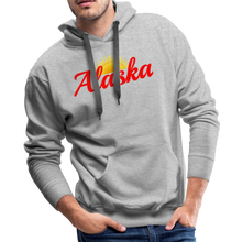 Load image into Gallery viewer, Alaska Midnight Sun Men's Hoodie - heather gray