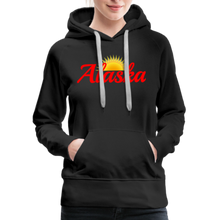 Load image into Gallery viewer, Alaska Midnight Sun Women's Hoodie - black