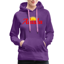 Load image into Gallery viewer, Alaska Midnight Sun Women's Hoodie - purple