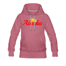 Load image into Gallery viewer, Alaska Midnight Sun Women's Hoodie - mauve