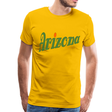 Load image into Gallery viewer, Arizona Men's T-Shirt - sun yellow