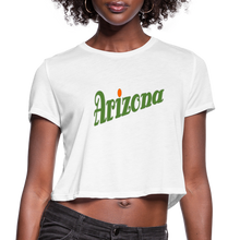 Load image into Gallery viewer, Arizona Women's Cropped T-Shirt - white