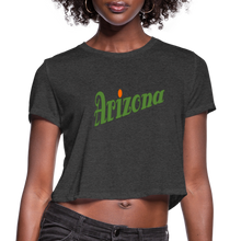 Load image into Gallery viewer, Arizona Women's Cropped T-Shirt - deep heather
