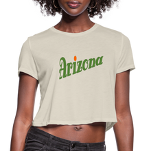 Load image into Gallery viewer, Arizona Women's Cropped T-Shirt - dust