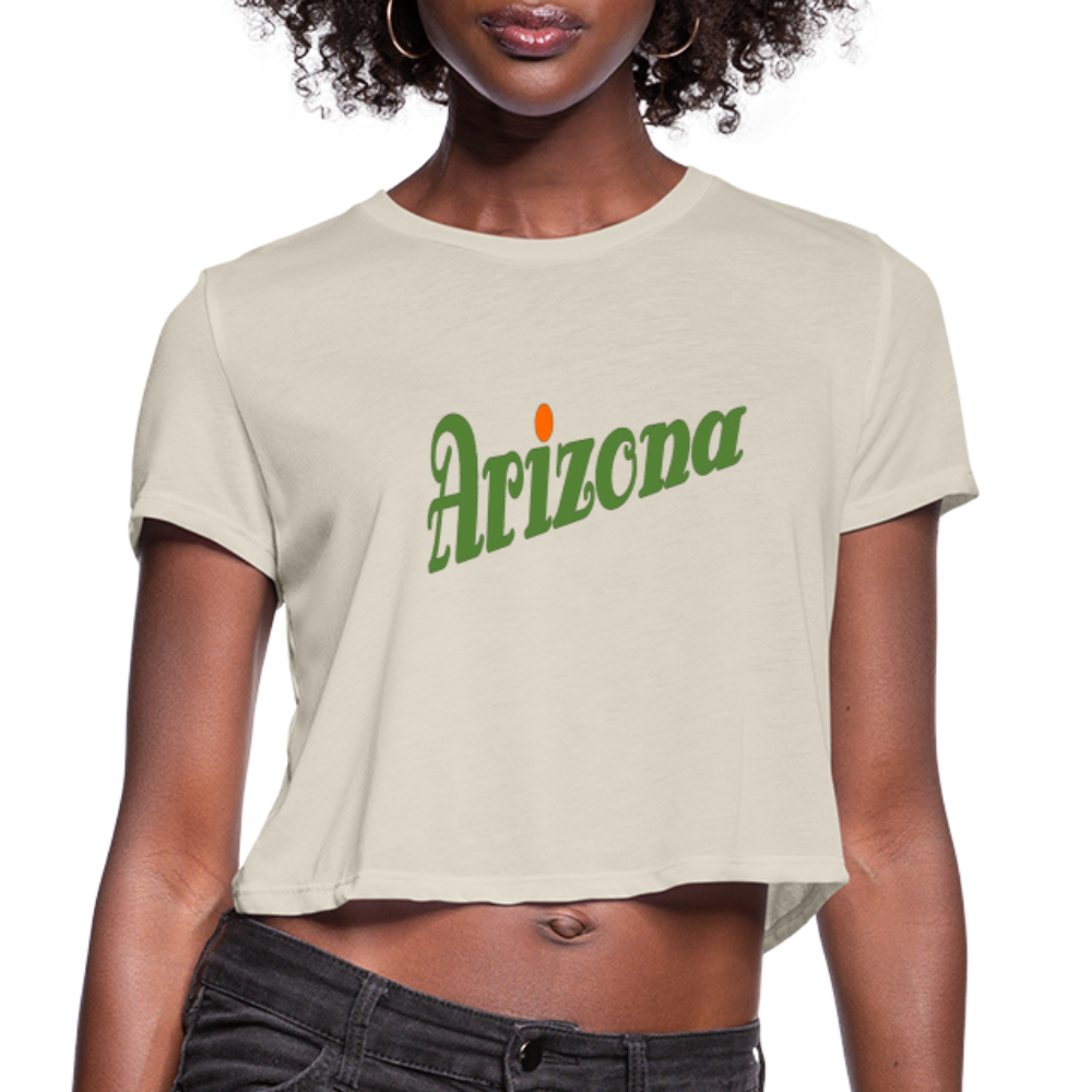 Arizona Women's Cropped T-Shirt - dust