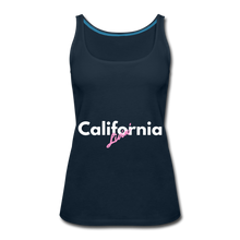 Load image into Gallery viewer, California Livin' Women's Tank Top - deep navy