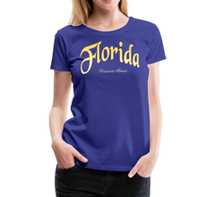 Load image into Gallery viewer, Florida Forever Home Women's T-Shirt - royal blue