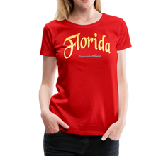 Load image into Gallery viewer, Florida Forever Home Women's T-Shirt - red