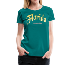 Load image into Gallery viewer, Florida Forever Home Women's T-Shirt - teal