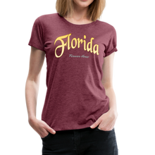Load image into Gallery viewer, Florida Forever Home Women's T-Shirt - heather burgundy