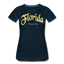 Load image into Gallery viewer, Florida Forever Home Women's T-Shirt - deep navy