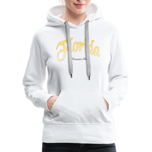 Load image into Gallery viewer, Florida Forever Home Women's Hoodie - white