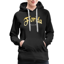 Load image into Gallery viewer, Florida Forever Home Women's Hoodie - black