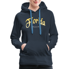 Load image into Gallery viewer, Florida Forever Home Women's Hoodie - navy