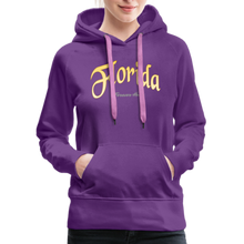Load image into Gallery viewer, Florida Forever Home Women's Hoodie - purple