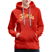 Load image into Gallery viewer, Florida Forever Home Women's Hoodie - red