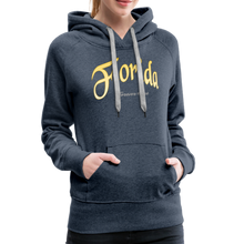 Load image into Gallery viewer, Florida Forever Home Women's Hoodie - heather denim
