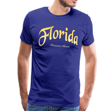 Load image into Gallery viewer, Florida Forever Home Men's T-Shirt - royal blue