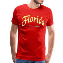 Load image into Gallery viewer, Florida Forever Home Men's T-Shirt - red