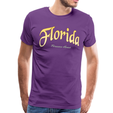 Load image into Gallery viewer, Florida Forever Home Men's T-Shirt - purple