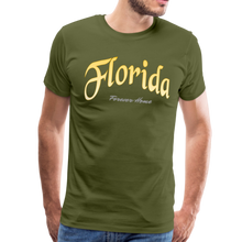 Load image into Gallery viewer, Florida Forever Home Men's T-Shirt - olive green