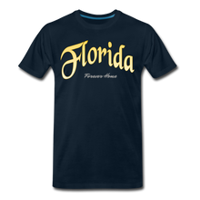 Load image into Gallery viewer, Florida Forever Home Men's T-Shirt - deep navy