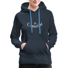 Load image into Gallery viewer, The Connecticut Women's Hoodie - navy
