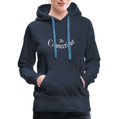 The Connecticut Women's Hoodie - navy