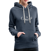Load image into Gallery viewer, The Connecticut Women's Hoodie - heather denim
