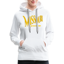 Load image into Gallery viewer, Missouri Did You Miss Me? Women's Hoodie - white