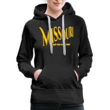 Load image into Gallery viewer, Missouri Did You Miss Me? Women's Hoodie - black