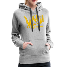 Load image into Gallery viewer, Missouri Did You Miss Me? Women's Hoodie - heather gray