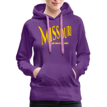 Load image into Gallery viewer, Missouri Did You Miss Me? Women's Hoodie - purple