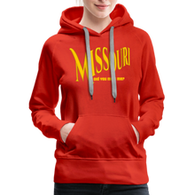 Load image into Gallery viewer, Missouri Did You Miss Me? Women's Hoodie - red