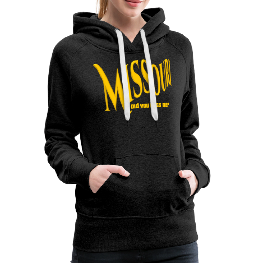 Missouri Did You Miss Me? Women's Hoodie - charcoal gray