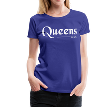 Load image into Gallery viewer, Queens New York Women's T-Shirt - royal blue