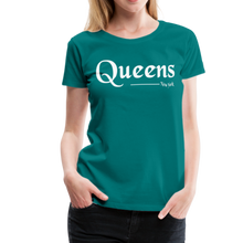 Load image into Gallery viewer, Queens New York Women's T-Shirt - teal