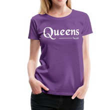 Load image into Gallery viewer, Queens New York Women's T-Shirt - purple