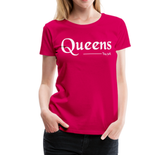 Load image into Gallery viewer, Queens New York Women's T-Shirt - dark pink