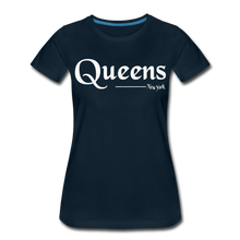 Load image into Gallery viewer, Queens New York Women's T-Shirt - deep navy