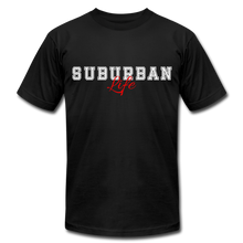 Load image into Gallery viewer, Suburban Life T-Shirt - black