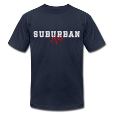 Load image into Gallery viewer, Suburban Life T-Shirt - navy