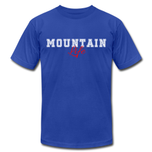 Load image into Gallery viewer, Mountain Life T-shirt - royal blue