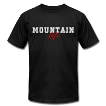 Load image into Gallery viewer, Mountain Life T-shirt - black