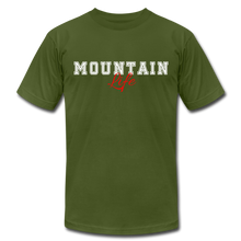 Load image into Gallery viewer, Mountain Life T-shirt - olive
