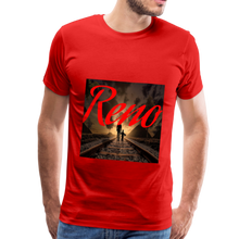 Load image into Gallery viewer, Reno Railroad Men's T-Shirt - red