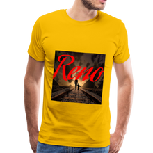Load image into Gallery viewer, Reno Railroad Men's T-Shirt - sun yellow