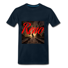 Load image into Gallery viewer, Reno Railroad Men's T-Shirt - deep navy