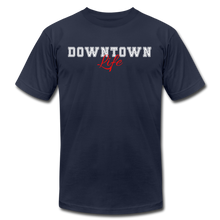 Load image into Gallery viewer, Downtown Life T-Shirt - navy
