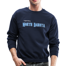 Load image into Gallery viewer, Legendary North Dakota Sweatshirt - navy